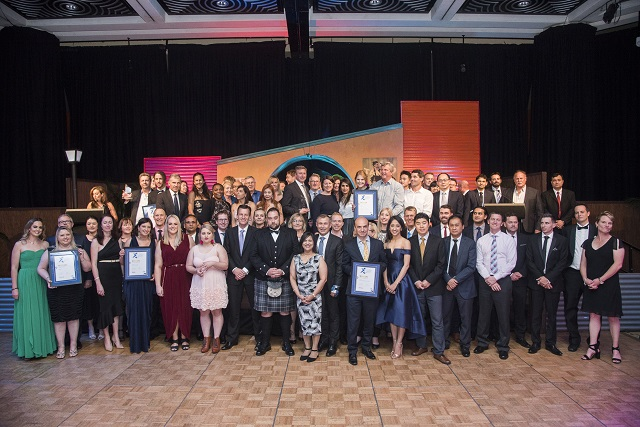 All winners of the WA Industry and Export Awards 2017