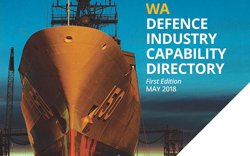 Inaugural WA Defence Industry Capability Directory