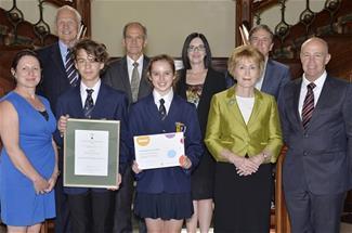 STEM Awards 2017 - John Curtin winner