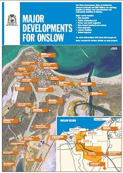 Onslow Projects Map - December 2014