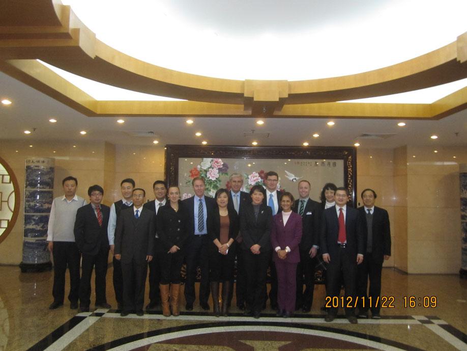 2012: 22-23 November, 13th Working Group Meeting held in Beijing