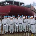 2005: 11 November NW Shelf JVPs visiting Hudong Ship Yard, Shanghai