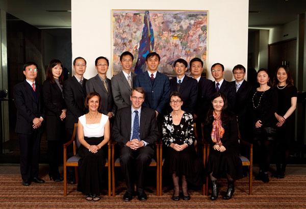 2012: Graduation of the 8th Executive Training Program Leadership Imperative, Group A