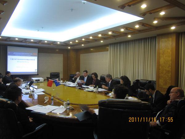 2011: 16-17 November Working Group Extraordinary Meeting held in Beijing