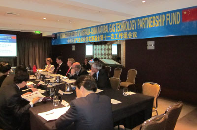 2010: 2-3 December LNG Fund's 11th Working Group Meeting held in Canberra