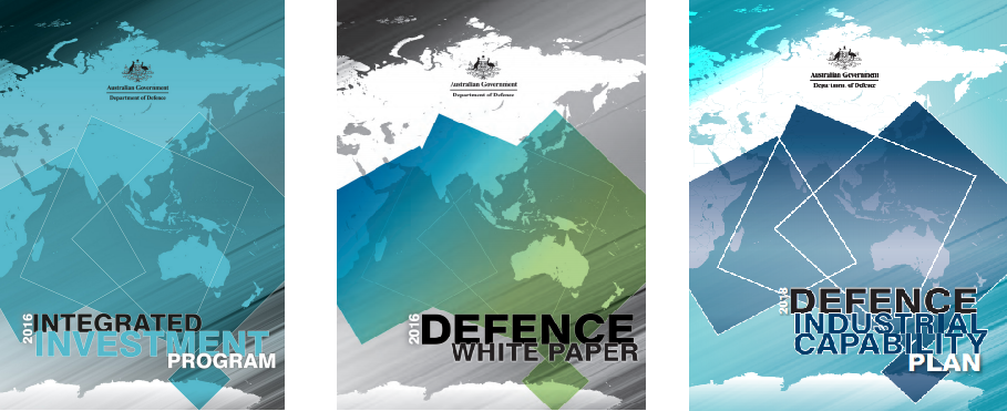 Defence West Publication Covers