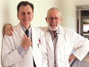 Professor Barry Marshall and Dr Robin Warren 2007